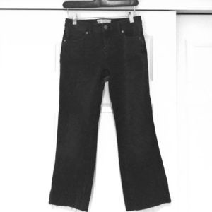 Free People Cropped Flare Jeans